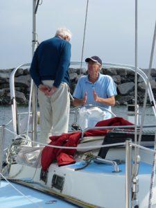 sailboat docking lesson