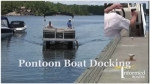 pontoon docking video