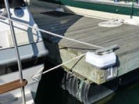 corner-cleat boat docking procedure