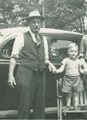 1947 Doug Dawson with Grandfather Frank Dawson 2