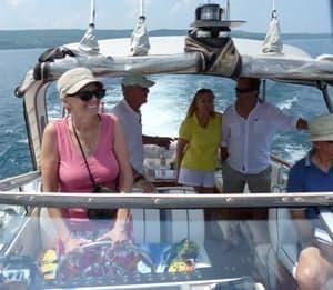 kathy helm loves boating