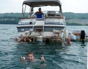 enjoy boating staycation