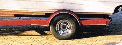 check trailer tire pressures