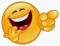 laughing guy