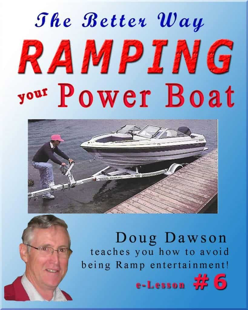 Ramping Your Power Boat Lesson