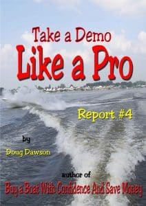 demo a boat